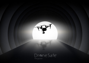 There's a drone at the end of the tunnel!