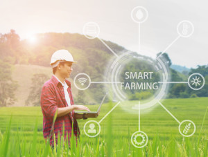 Smart FarmingWith Drone Crop Surveying