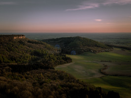 Sunset at Sutton Bank Hill, North York Moors