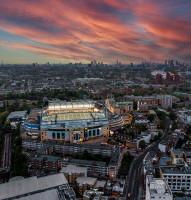 Chelsea Football Club, Stamford Bridge Drone Photo