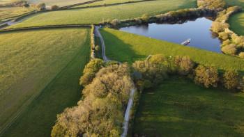 Summer Trees & Reservoir in North Devon