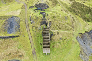 Clee Hill - Quarry buildings