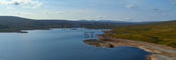Cow Green Reservoir from 400 feet