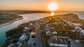 Summer Sunset Over Cornwall