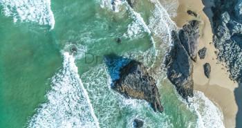 Bedruthan Steps Coastline