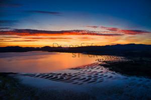 Deep Golden Hour over the Clyde