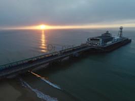 Bournemouth Pier at sunrise