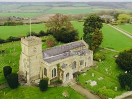 Rural Countryside village Church