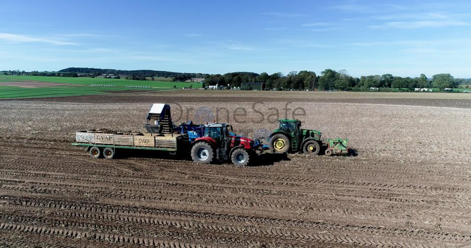 Shropshire Potato Harvest