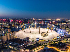 02 Arena Greenwich, London photo taken on out phantom 4 drone