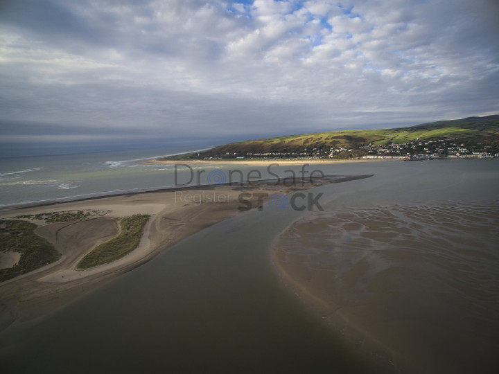 Looking Over To Aberdyfi