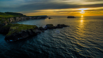 Carrick-a-rede Sunset
