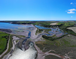 Dale Wetlands by drone