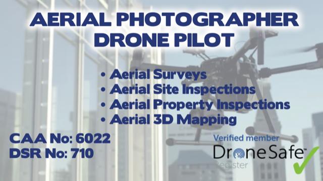 Robert Dobbin - Aerial Photographer Drone Pilot