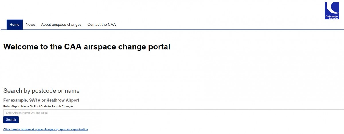 CAA Airspace Portal – Checking for Changes