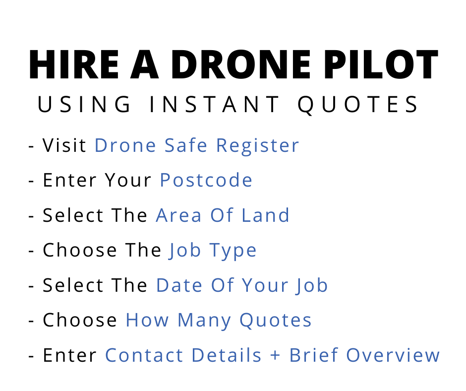 5 Ways You Can Hire A Drone Operator
