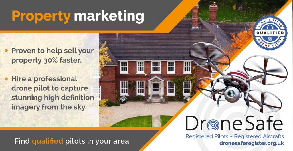 Drone Safe Register Property Marketing