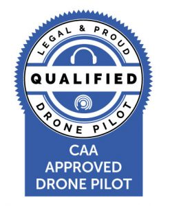 CAA Approved Drone Pilot Logo