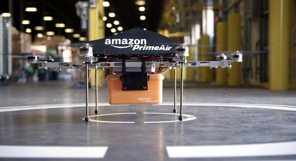 Amazon prime air drone delivery project