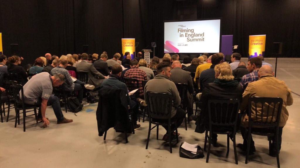 Film summit with Creative England